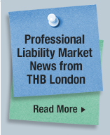 Professional Liability Market News